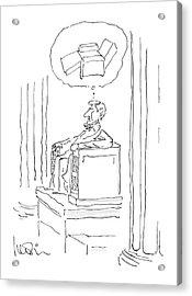New Yorker April 28th, 1986 Acrylic Print