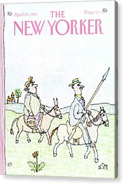 New Yorker April 29th, 1991 Acrylic Print