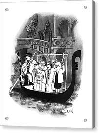 New Yorker April 2nd, 1990 Acrylic Print