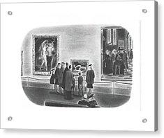 New Yorker April 3rd, 1943 Acrylic Print
