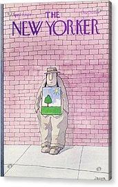 New Yorker April 3rd, 1978 Acrylic Print by Jack Ziegler