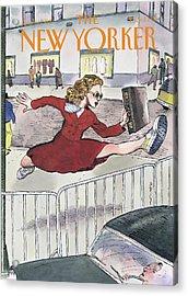 New Yorker April 6th, 1998 Acrylic Print