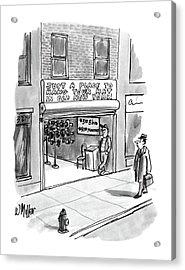 New Yorker April 7th, 1986 Acrylic Print