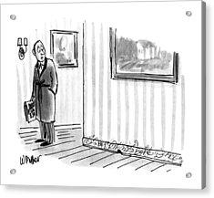 New Yorker April 8th, 1991 Acrylic Print