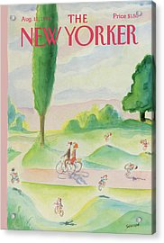 New Yorker August 11th, 1986 Acrylic Print