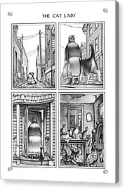 New Yorker August 18th, 1980 Acrylic Print