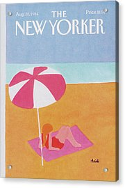 New Yorker August 20th, 1984 Acrylic Print