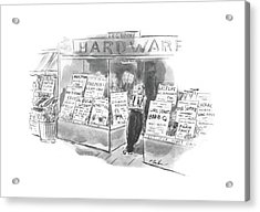New Yorker August 24th, 1940 Acrylic Print