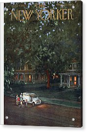 New Yorker August 24th, 1957 Acrylic Print