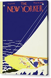 New Yorker August 27 1932 Acrylic Print