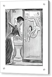 New Yorker August 28th, 1943 Acrylic Print