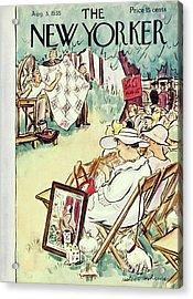 New Yorker August 3 1935 Acrylic Print
