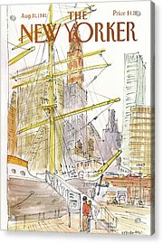 New Yorker August 31st, 1981 Acrylic Print