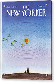 New Yorker August 31st, 1987 Acrylic Print