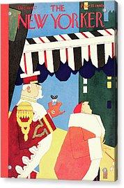 New Yorker December 10th, 1927 Acrylic Print