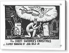 New Yorker December 12th, 1925 Acrylic Print