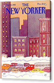 New Yorker December 13th, 1982 Acrylic Print