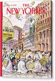 New Yorker December 13th, 1993 Acrylic Print