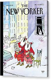 New Yorker December 13th, 2004 Acrylic Print