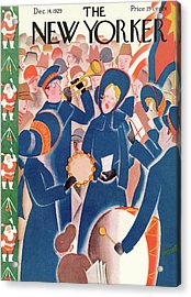 New Yorker December 14th, 1929 Acrylic Print