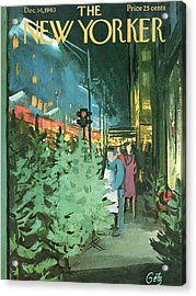 New Yorker December 14th, 1963 Acrylic Print