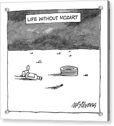 Life Without Mozart Acrylic Print