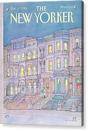 New Yorker December 17th, 1984 Acrylic Print