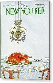 New Yorker December 1st, 1975 Acrylic Print