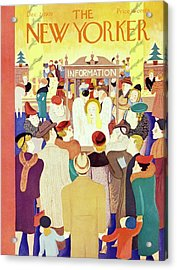 New Yorker December 2 1939 Acrylic Print