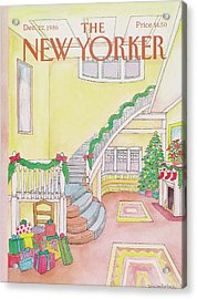 New Yorker December 22nd, 1986 Acrylic Print