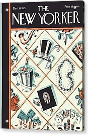New Yorker December 26 1925 Acrylic Print