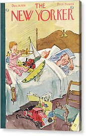 New Yorker December 26th, 1936 Acrylic Print