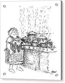 New Yorker December 27th, 1969 Acrylic Print by Edward Koren