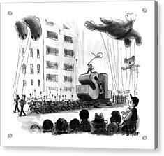 New Yorker December 2nd, 1991 Acrylic Print by Warren Miller