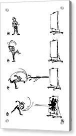 New Yorker December 31st, 1960 Acrylic Print by Everett Opie