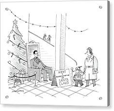 New Yorker December 5th, 1988 Acrylic Print