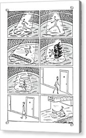 New Yorker December 7th, 1940 Acrylic Print
