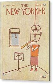 New Yorker December 9th, 1974 Acrylic Print