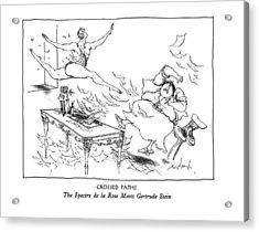New Yorker February 10th, 1992 Acrylic Print