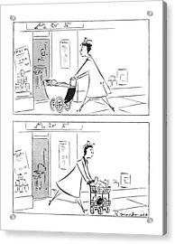 New Yorker February 12th, 1944 Acrylic Print