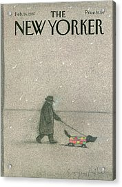 New Yorker February 16th, 1987 Acrylic Print