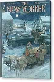 New Yorker February 19th, 1949 Acrylic Print