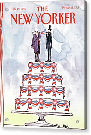 New Yorker February 19th, 1990 Acrylic Print