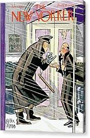 New Yorker February 1st, 1941 Acrylic Print