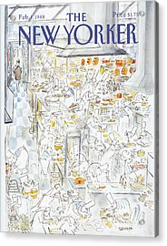 New Yorker February 1st, 1988 Acrylic Print