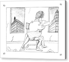 New Yorker February 20th, 1995 Acrylic Print