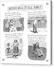 New Yorker February 23rd, 1998 Acrylic Print by Roz Chast