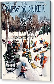 New Yorker February 26th, 1955 Acrylic Print