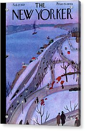 New Yorker February 27th, 1937 Acrylic Print