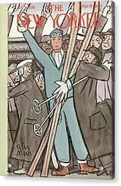 New Yorker February 5th, 1938 Acrylic Print